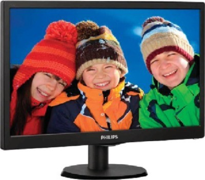 Philips 18.5 inch LED - 193V5LSB23  Monitor (Black)