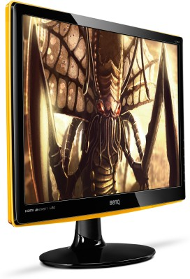 BenQ 21.5 inch LED Backlit LCD - RL2240HE Monitor (Gaming) (Black & Yellow)