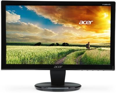Acer P166HQL 15.6 inch LED Backlit LCD Monitor (Black)