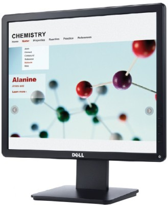 Dell E1715S 17 inch LED Backlit LCD Monitor (Black)