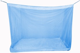 Elegant 4.5x6.5 Feet Special Polyster Semi Mid Size Bed Mosquito Net