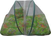 Muren Baby Bedding Set With Mosquito Net - Bear Mosquito Net (Green)