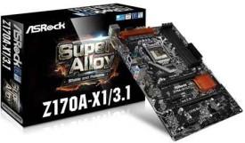 Asrock Z170A-X1 Motherboard
