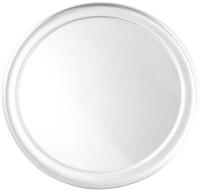 Rtci 7 Inches Aluminium Pizza Wide Rim Tray Solid Aluminium Tray (Silver, Pack Of 1)