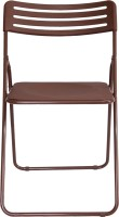 AARTIN Carbon Steel Moulded Chair (Finish Color - BROWN Set Of - 1)