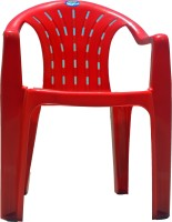 Surprise Surprise Lite PP Moulded Chair (Finish Color - Red Set Of - 1)