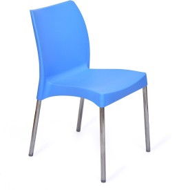 @home PP Moulded Chair (Finish Color - Blue Set Of - 1)
