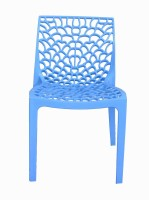 Supreme Web PP Moulded Chair (Finish Color - Soft Blue Set Of - 4)