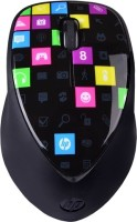 HP Bluetooth Wireless 3 Button Touch To Pair Laser With 1600 Cpi Wireless Laser Mouse (Bluetooth, Black, Multicolor)