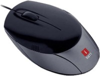 IBall Aero Dynamic Shiny Wired Optical Mouse Gaming Mouse (PS/2, Black)