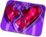 Amy Amy Heart Art Mousepad