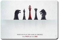 RangeeleShope Game Of Thrones Cover Mousepad Mousepad (Grey)