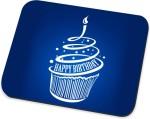 Amy Birthday Cake Art Mousepad