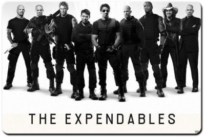 Shoperite The Expendables Team Mousepad