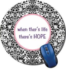 Printland Floral Hope Mousepad