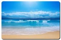 Shoperite Beach View Mousepad (Blue)