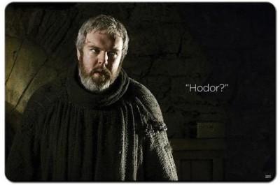 Shoprock Hodor Game Of Thrones Mousepad