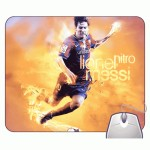 Headturnerz Messi Dribbling Football Mousepad