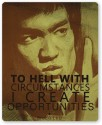 PosterGuy I Create Oppurtunities | Bruce Lee Religious Mousepad (Yellow)