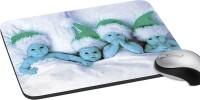 MeSleep Blue Babies PD-21-109 Mousepad (Multicolor)