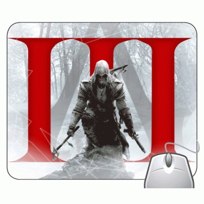 Headturnerz Assassins Creed 3 Mousepad Multicolor