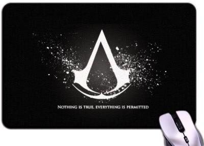 Bluegape Assassins Creed Logo Mousepad Multicolor