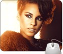 Headturnerz Alicia Keys Brand New Me Mousepad - Multicolor