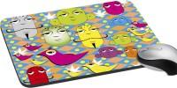 MeSleep Faces PD-20-28 Mousepad (Multicolor)