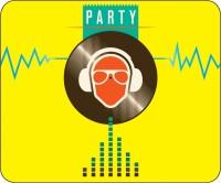 Headturnerz Party Animal Dj Mousepad (Multicolor)
