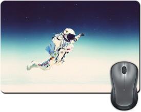ShopMantra Astronaut Space Minimal Mousepad