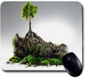 Awwsme A Tree Coming Out From The Shoe Mousepad (Multicolor)