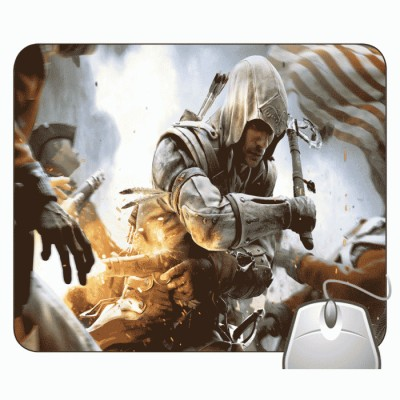 Headturnerz The Assassins Creed Relevation 2 Mousepad Multicolor