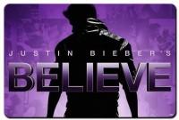 RangeeleShope Justin Bieber Believe Movie Poster Mousepad Mousepad (Blue)