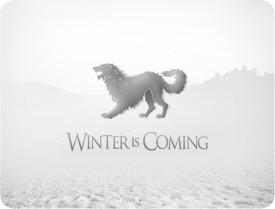 Shopkeeda Winter is Coming Mousepad