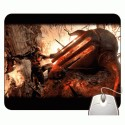 Headturnerz God Of War Kratos Fighting Big Demon Mousepad - Multicolor