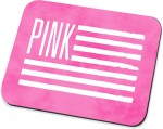 Amy Amy Pink Flag Mousepad