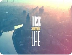 Shopkeeda Music is Life Mousepad