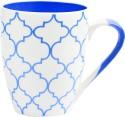 Bharat Opera Series Blue 2 Mug - Blue, White, Pack Of 1