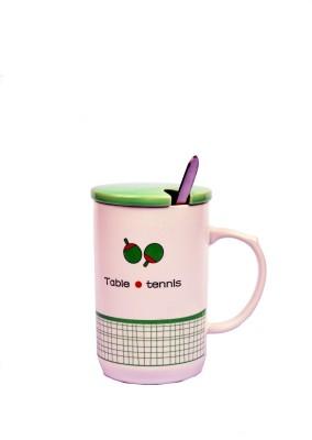 Enfin Homes Plates & Tableware Enfin Homes Table Tennis Porcelain Mug