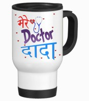 Tiedribbons Gift For Dad _ Doctor Grand Father Special_ Hindi _Fathers's Day Stainless Steel Mug (475 Ml)