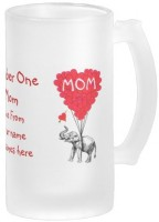 Boxmywish Personalized Funny Mothers Day Frosted Beer Glass Mug (500 Ml)