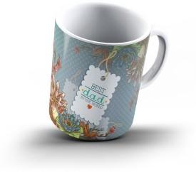 Ucard Fathers Day496 Bone China, Ceramic, Porcelain Mug