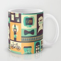 Astrode Sherlock The Empty Hearse Ceramic Mug (325 Ml)