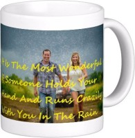 Exoctic Silver Monsoon Rain : Quotes X017 Ceramic Mug (300 Ml)
