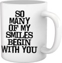 Tiedribbons Gifts For Friend White Coffee Mug Mug - White, Pack Of 1