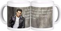 Exoctic Silver Salman Khan Quotes X036 Ceramic Mug (300 Ml)