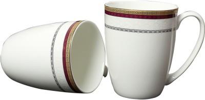Aspirationz Az-Ds020-2 Pcs  Bone China Mug