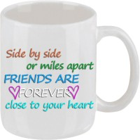 Elli Gifts Friends Are Coffee Mug Ceramic Mug (325 Ml)