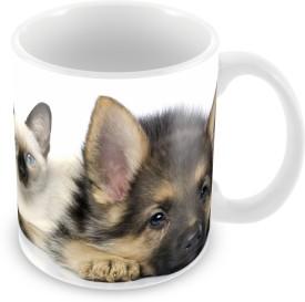 Prinzox Cat & Dog Ceramic Mug