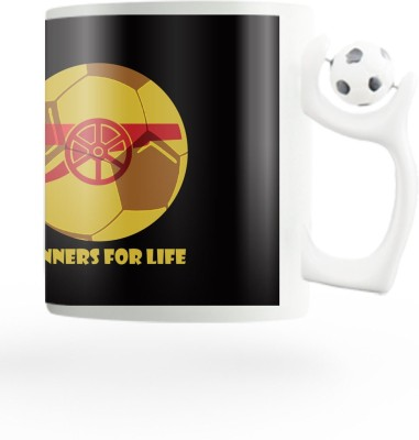 PosterGuy Gunners For Life Arsenal Inspired Ceramic Mug (280 Ml)